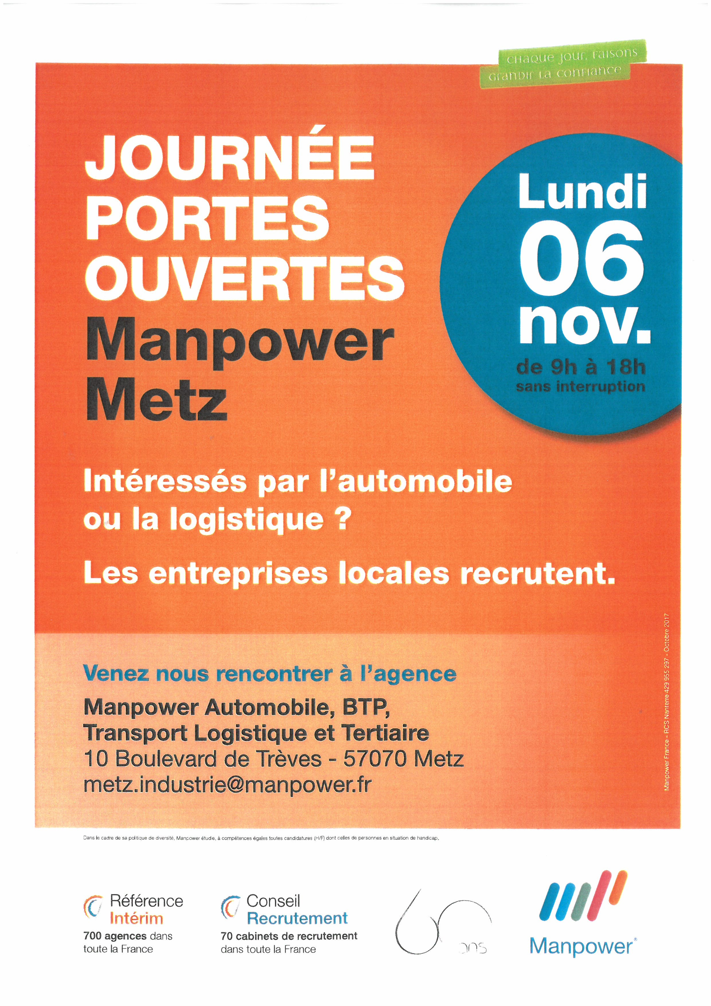 JOURNÉE PORTES OUVERTES MANPOWER
