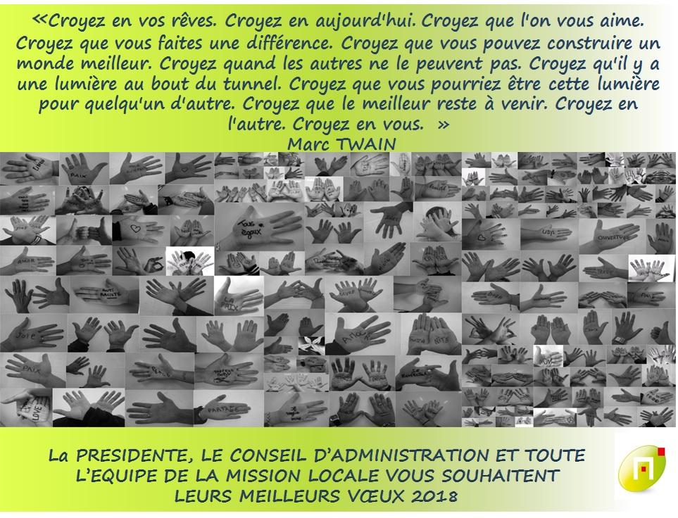 VŒUX DE LA MISSION LOCALE DU NORD MOSELLAN