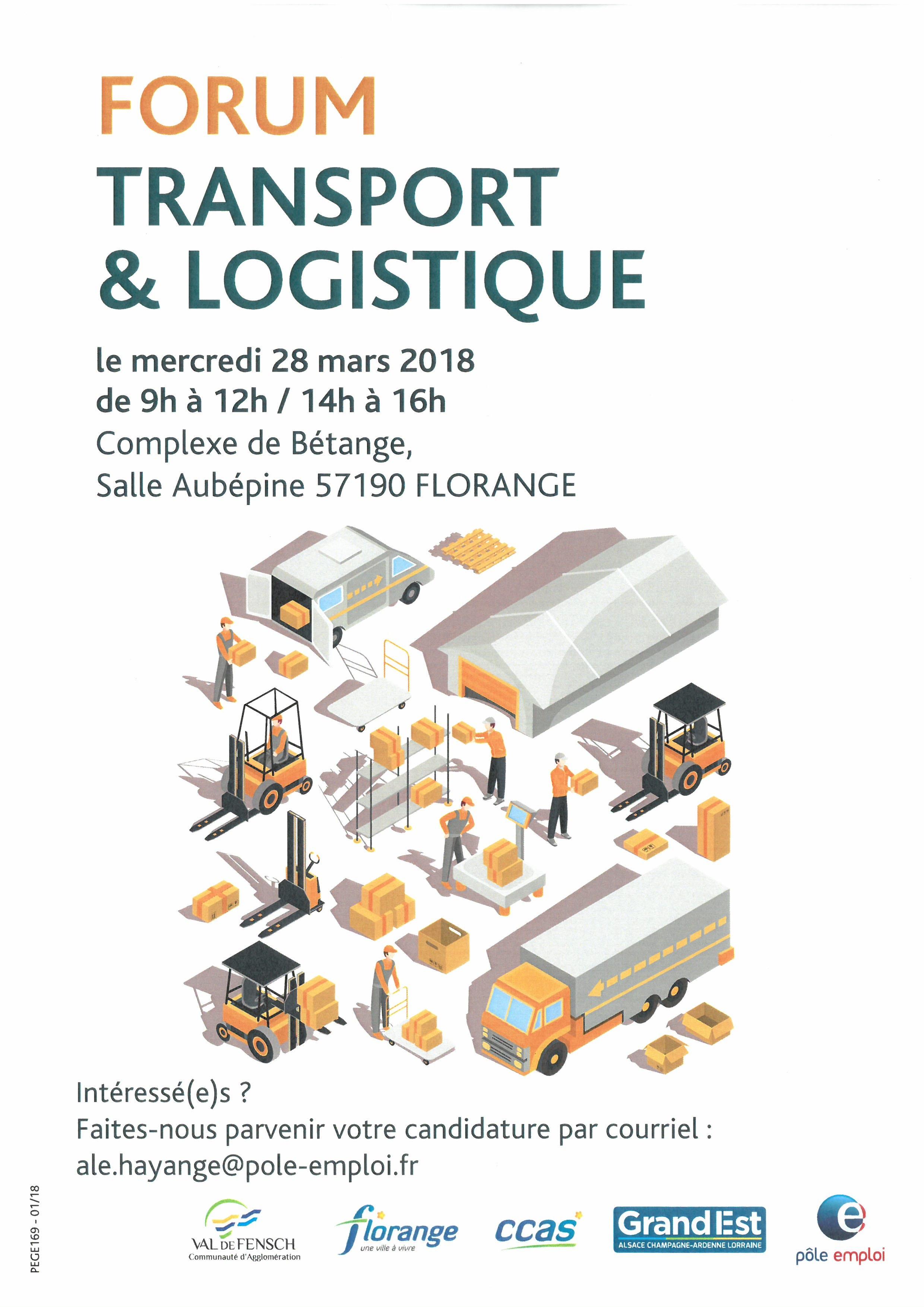 FORUM TRANSPORT LOGISTIQUE AU COMPLEXE DE BETANGE A FLORANGE