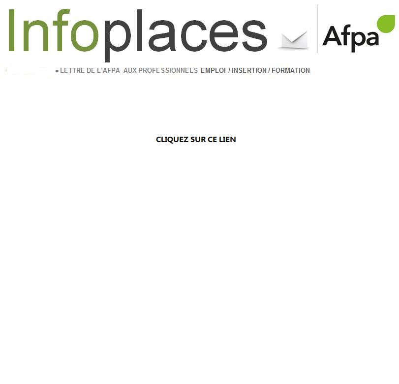 INFOS PLACES AFPA GRAND EST MARS 2018