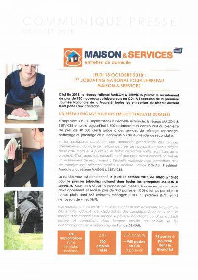 Maison et services entretien à domicile