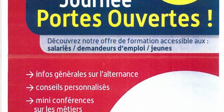 JOURNEE PORTES OUVERTES CCI FORMATION