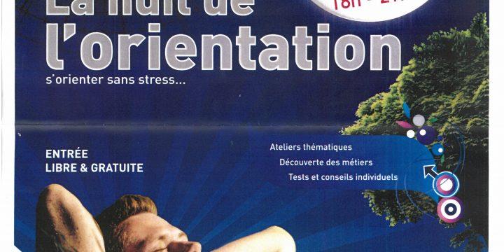 LA NUIT DE L ORIENTATION CCI FORMATION