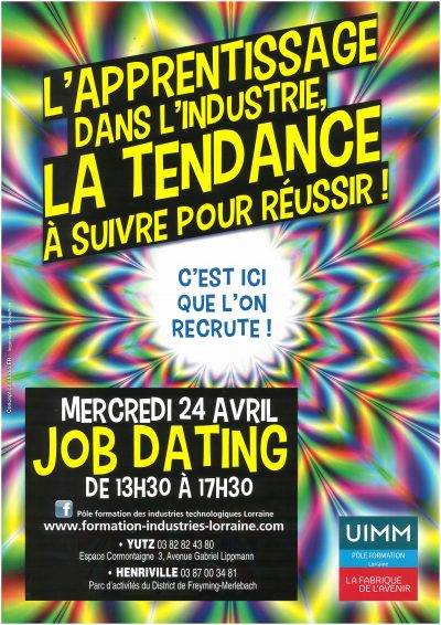 Job dating apprentissage