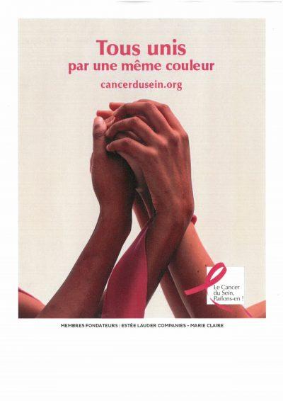 Octobre: Campagne de prévention contre le cancer du sein