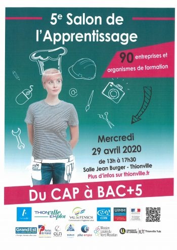 Salon de l'apprentissage Mercredi 29 avril 2020