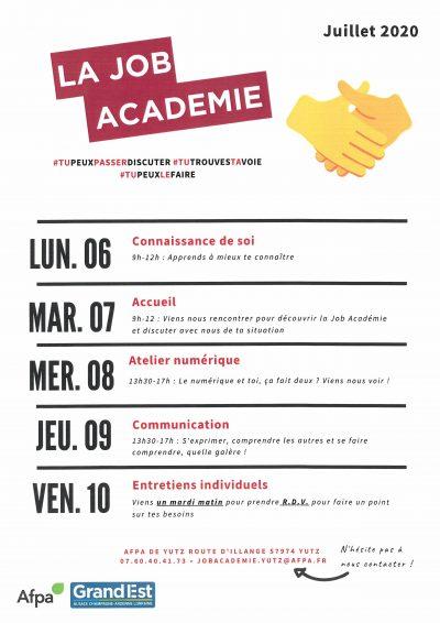 La Job Académie vous accueille!!