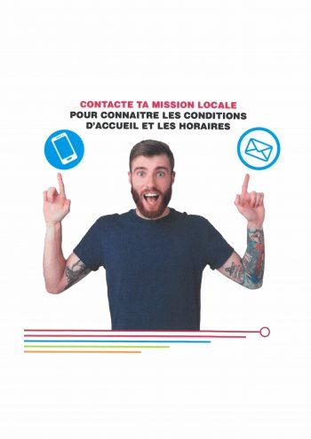 La Mission Locale reste à votre disposition, contactez la