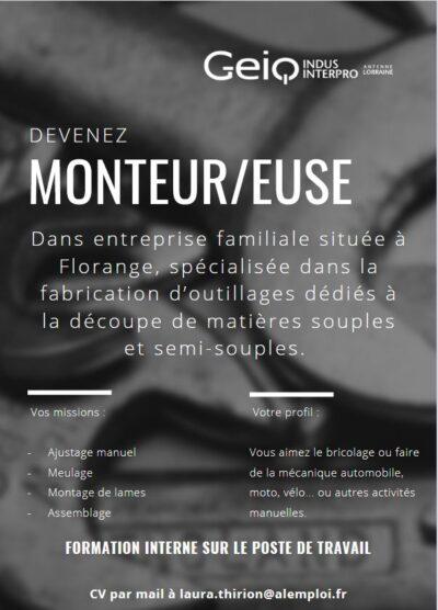 Devenez Monteur!!