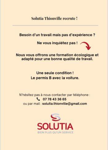 Solutia Thionville recrute!
